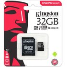 CARTAO DE MEMORIA KINGSTON CANVAS MICRO SD 32GB SDCS2/32GB