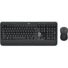 KIT TECLADO + MOUSE SEM FIO LOGITECH ADVANCED MK540