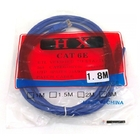 PATCH CORD CAT 6 COR AZUL DEX COM 1.8MT