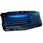 TECLADO MULTIMIDIA USB GAMER EXBOM C/ LED BK-G35