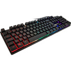 TECLADO USB KNUP GAMER C/LED RGB KP-TM009